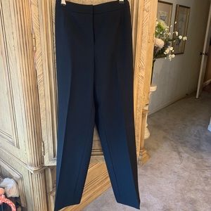 Evan Picone Black trousers flat Front size 8